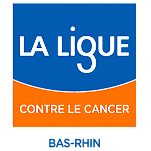 logo ligue cancer bas rhin avec la molshémienne 300